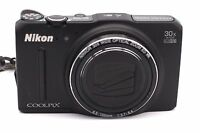 Nikon COOLPIX S9700 16.0MP Digital Camera - Black