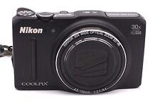 Nikon COOLPIX S9700 16.0MP Digital Camera - Black
