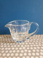 Vintage Small Cut Glass Creamer. Weight 270gm.