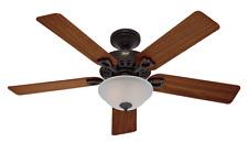 "Hunter  52"" Astoria New Bronze Ceiling Fan with Light"