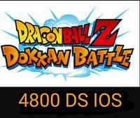 Compte dokkan battle global IOS farmed + 4800 ds + LIMITED ACCOUNT !!!!