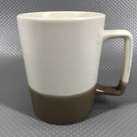 Colorblock Starbucks Mug Ceramic 2016 16oz White Tan