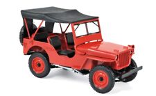 Norev Jeep 1942 1:18 red
