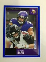 F67962  2020 Score Showcase #244 Anthony Barr /100 VIKINGS