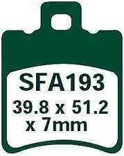 EBC Bremsbeläge SFA193 VORNE APRILIA SR 50 WWW (A/C) (LYH00) 97-01