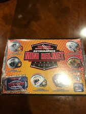 PITTSBURGH STEELERS Tristar NFL Autograph Football Mini Helmet Live Break #178