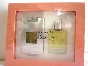 2 x 0.5 OZ  ESTEE LAUDER PLEASURES PERFUMES SET WOMEN SEALED Brand New In Box