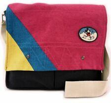 Nwt Junk Food Mickey Mouse Canvas Briefcase Crossbody Satchel Handbag