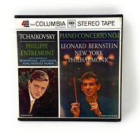 Tchaikovsky Piano Concerto No.1 Philippe Entremont Leonard Bernstein MS6359 Reel