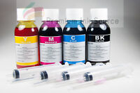 4x 100ML Refill ink kit for HP Canon Lexmark Dell brother inkjet printer