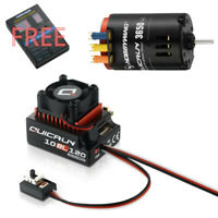 Hobbywing QUICRUN 10BL120 Sensored ESC & 3650 G2 Brushless Motor Kit 1/10 RC Car