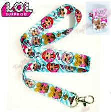 LOL SURPRISE DOLLS Lanyard Neck Strap Necklace Birthday Party Supplies Favors