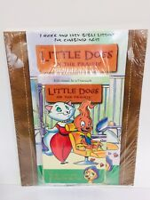 Little Dogs On The Prairie A Lotta Love And A Little Off The Top Vhs & Book Set