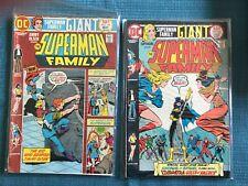 SUPERMAN FAMILY 171 VF OR BETTER 170 JIMMY OLSEN 140 DC SUPER-STARS 16