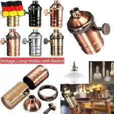 Lampenfassung Vintage Fassung E27 Lampensockel Sockel Retro Socket Lampenhalter