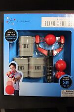 Blakjax 7 pieces sling shot set launches safe foam
