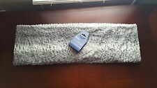West Loop Scarf faux fur gray white soft polyester New Winter Christmas Warm