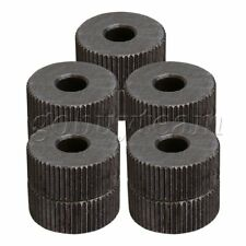 10pcs Silver 1mm Single Straight Coarse Linear Knurling Wheel for Metal Working