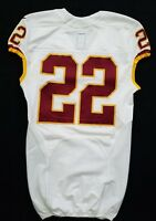 #22 No Name of Washington Redskins NFL Locker Room Game Issued Jersey