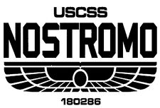 ALIEN USCSS Nostromo Vinyl Car Decal Sticker 20cm x 13cm