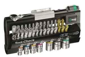 Wera Tool-Check 1 SB, 38-Teilig, Bitsortiment mit Ratsche und Nüssen