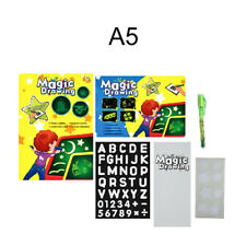 A5 Draw With Light Fun Developing Toy Drawing Board Magic Draw Educational Broad