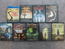 Children of the Corn Complete Series 1-8 DVD Lot Horror 1 2 3 4 5 6 7 8 Blu-Ray