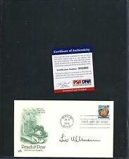 Liv Ullmann Signed 1995 First Day Cover FDC PSA/DNA COA AUTO Autograph