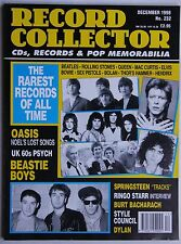 Record Collector 12/98 Oasis Beastie Boys Ringo Starr