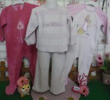 vêtements occasion fille 18 mois,2 grenouillères velours,pyjamas 2 ans