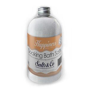 Orange, Neroli Epsom Bath Salts - Happiness - Aromatherapy - Salts & Co - 500g