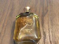 VINTAGE - AVON - TOPAZE COLOGNE Splash - 2 FL OZ (90 % Full)
