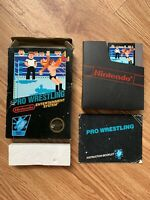 Pro Wrestling (Nintendo Entertainment System, NES) *AUTHENTIC, TESTED, 5 Screw*
