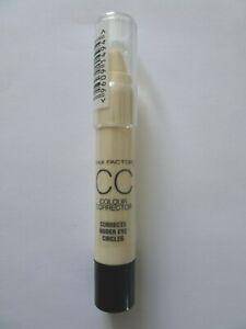 MAX FACTOR CC Colour Corrector Corrects Under Eye Circles Concealer New Sealed