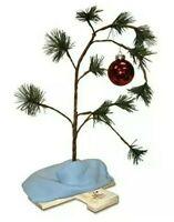"24"" Charlie Brown Musical Christmas Tree Linus's Blanket Holiday Snoopy Peanuts"