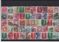 Japan early used stamps Ref 15864