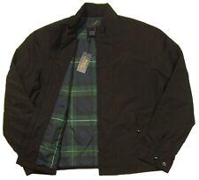 Polo Ralph Lauren Men's Black Water-Resistant Windbreaker Jacket