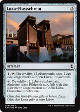 4x Luxa-Flussschrein (Luxa River Shrine) Amonkhet Magic