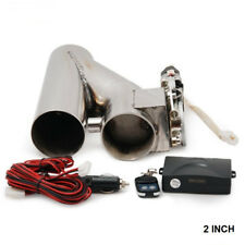 "2"" EXHAUST CATBACK TURBO ELECTRIC E CUTOUT VER 2 With REMOTE UNIVERSAL PERFORMAN"