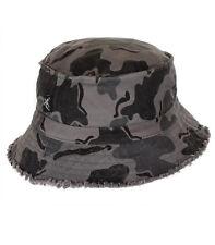 Noir Salamandre Camo Bucket Hat-BH5-New