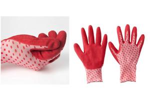IKEA Protective Comfortable Soft Garden Glove Polka Dot for Planting, Women