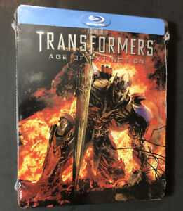 Transformers Age of Extinction [ Limited Edition STEELBOOK ] (Blu-ray Disc) NEW