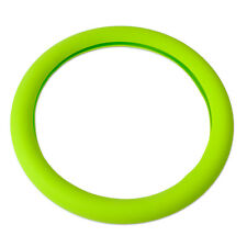 Green Silicone Car Steering Wheel Cover fits Hyundai Solaris GAZ Gazelle Renault