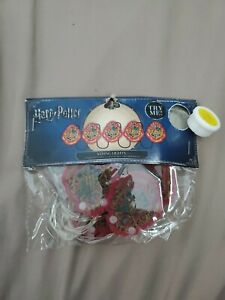 NEW Harry Potter 5 Piece String Party Lights - 5 Ft. Long Hogwarts Gryffindor