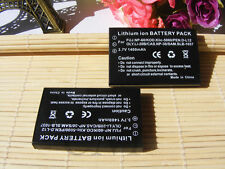 2x Battery for Fuji NP-60 Pentax D-L12 KODAK KLIC-5000 Olympus LI20B Casio NP-30