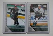 2005-06 05-06 Upper Deck Series 1 & 2 Young Guns Lot #204 Perry & #452 Getzlaf