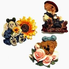 "Boyds Bears ~ ""Lapel Pins"" ~ * (Lot Of 3) *"