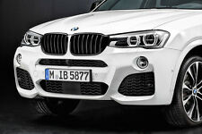 BMW OEM M Performance Black Kidney Grille SET X3 F25 2015+LCI X4 F26 51712337763