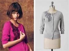 Anthropologie Beribboned Buds Cardi Cardigan Sweater Top Tabitha GLEE 0 2 XS