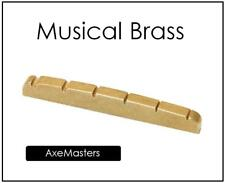 USA MADE AxeMasters BRASS NUT made for IBANEZ TALMAN Electric Guitar